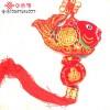 彩布弯鱼中国结