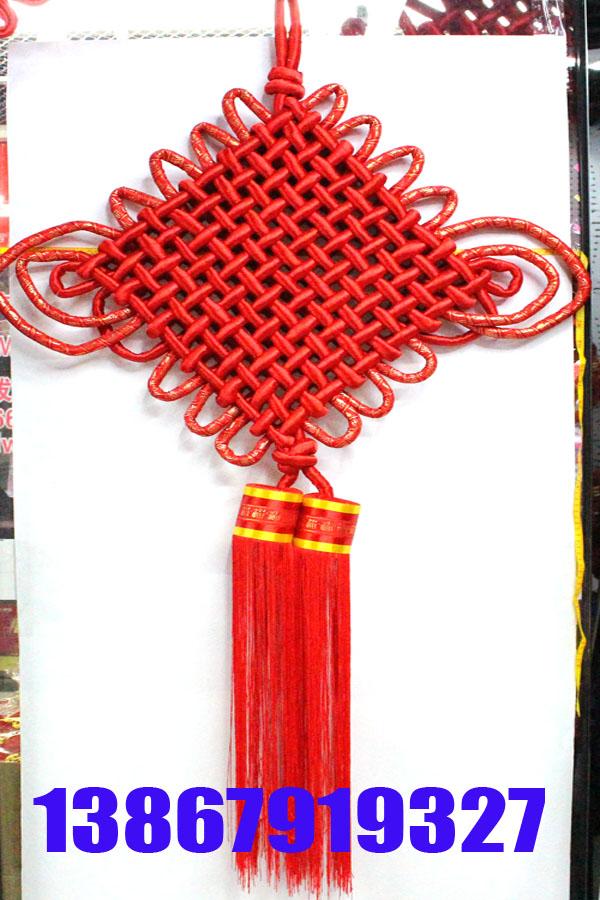 装饰品绸缎大中国结需求增加